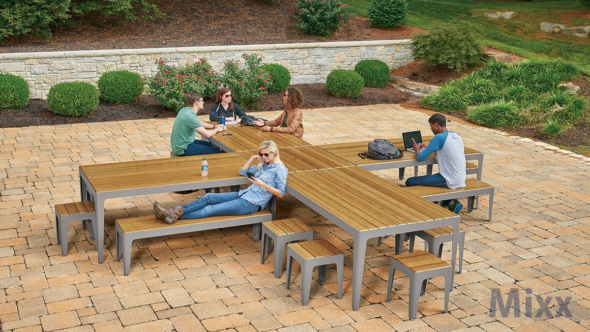 ANOVA On Twitter MIXX Coming Soon Communal Dining Tables Create - Outdoor communal table