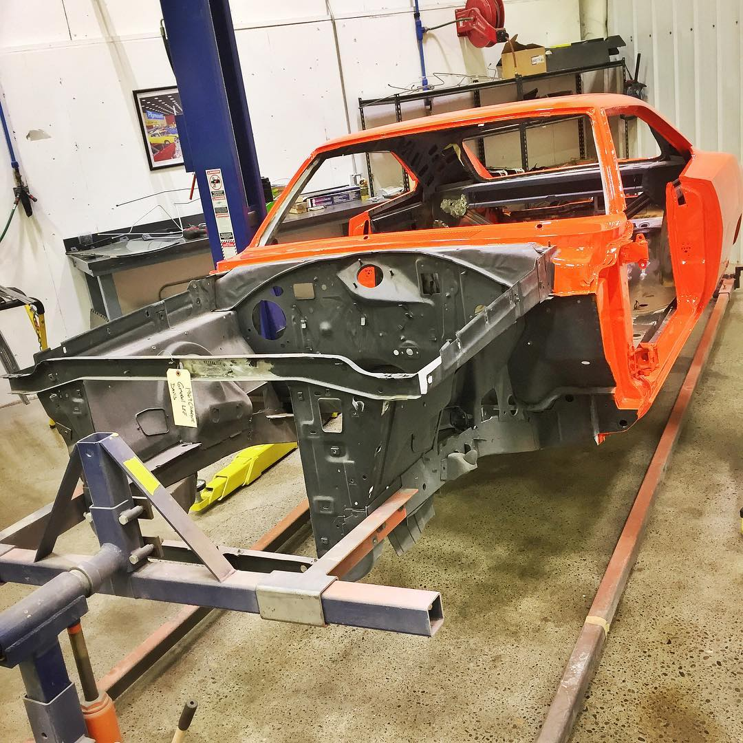 Graveyard Carz On Twitter The General Lee Is Getting Color Put On