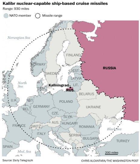Resultado de imagen de misiles balísticos Iskander-M de Kaliningrado,