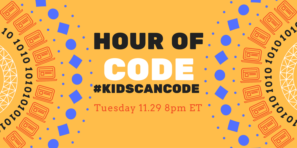 More girls have tried CS through #HourofCode than past 70 years. Make history again. Join #kidscancode 11/29 8p EST to learn how #CAedchat https://t.co/TkOVFZ7v3v