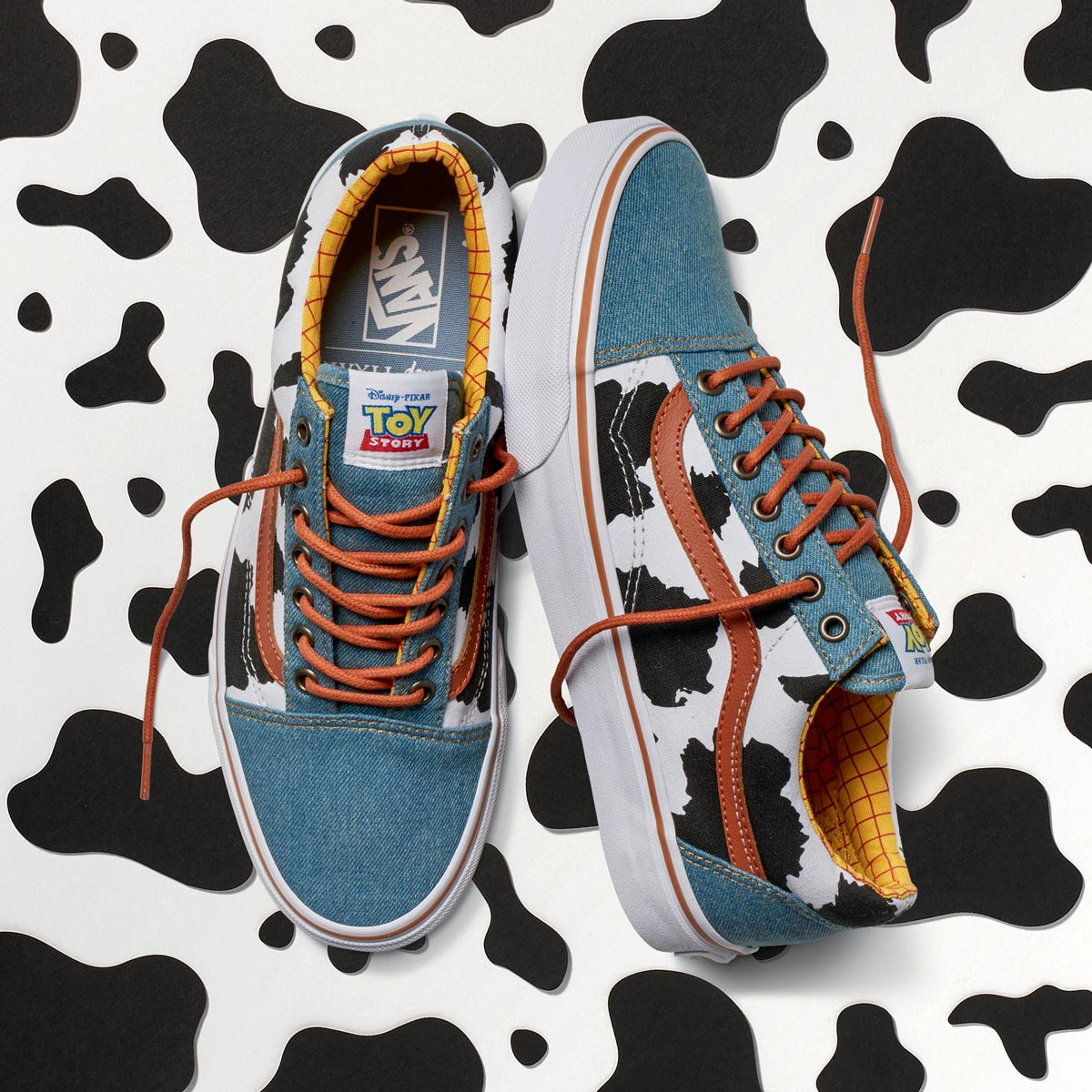 TOY STORY x VANS OLD SKOOL WOODY (SKATEBOARD), Men's Fashion