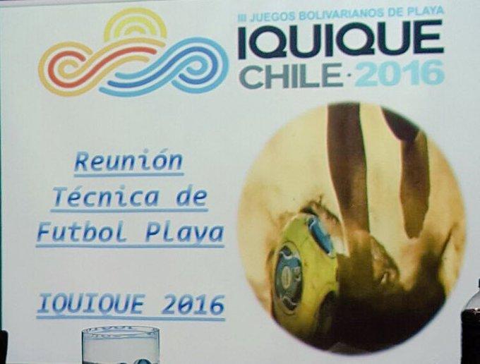 III Juegos Bolivarianos de Playa en Iquique Chile. CyY6IALWIAAzMjd