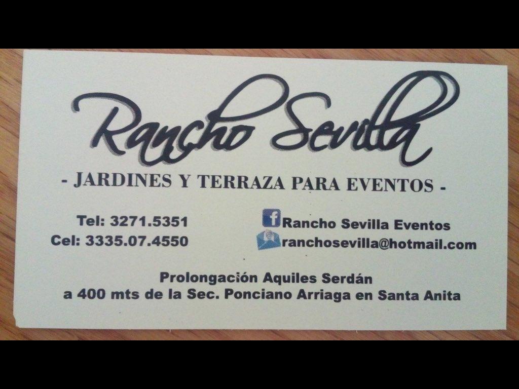 Rancho Sevilla Ranchosevilla Twitter