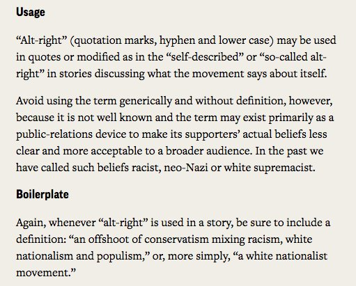 the importance of correctly defining the alt right and its association with white supremacy The alt right—and white nationalism as a whole—is a decentralized, non-hierarchical network the nodes of this network are individuals, most of them anonymous, and small hierarchical organizations.