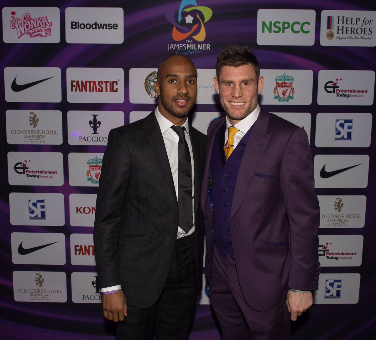 We would also like to say a special thanks to Fabian Delph for a special act of generosity