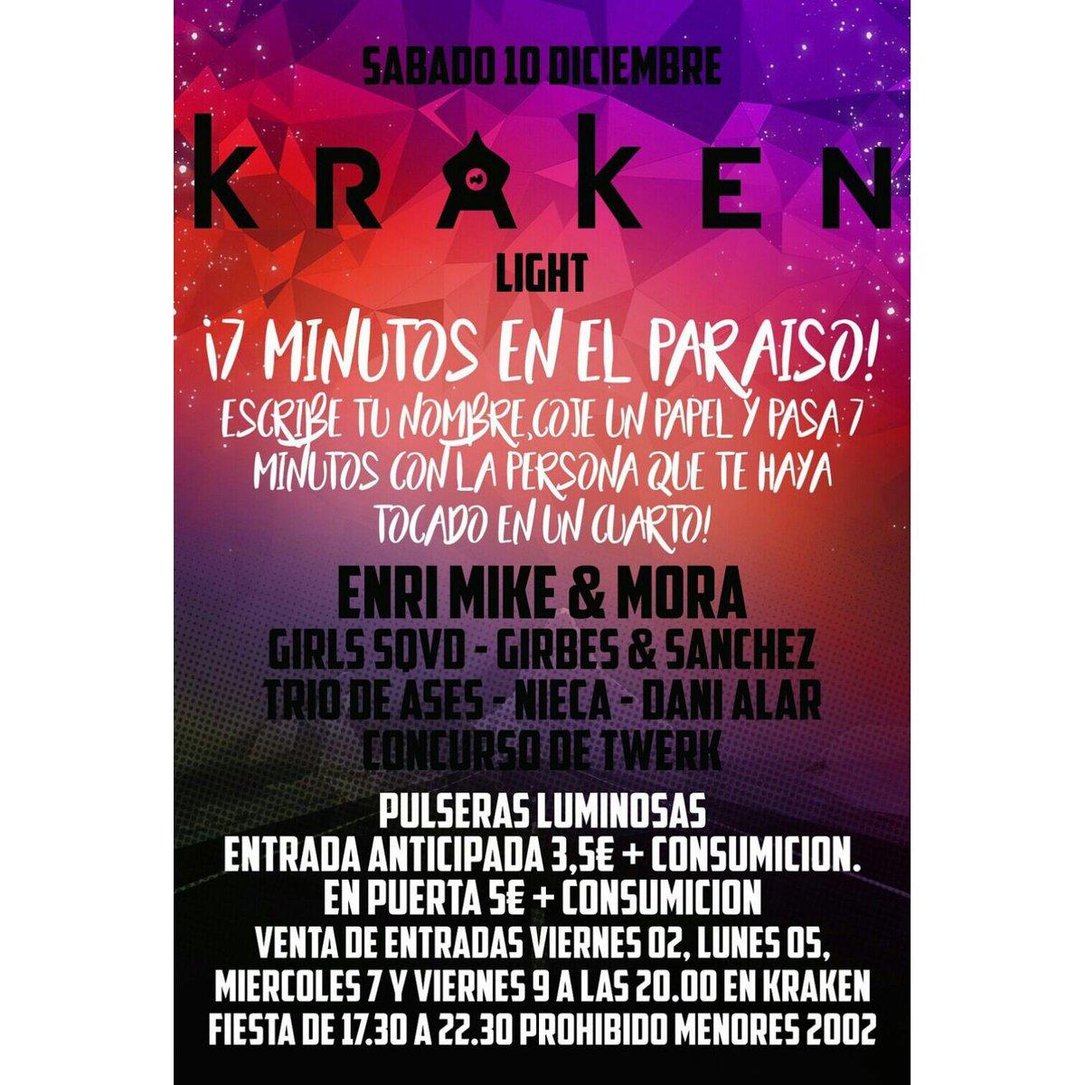 Kraken Light On Twitter Aqui Os Presentamos Nuestra Proxima Fiesta