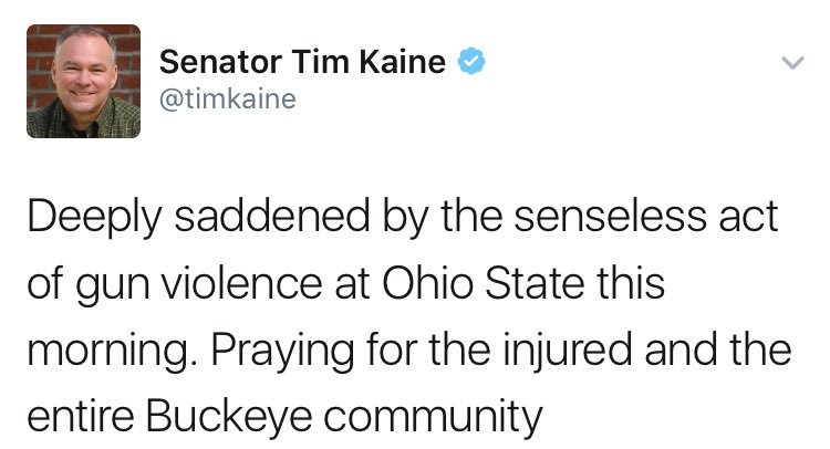 Actually Tim, the gun violence was the sensible part, it stopped the guy with the car and the knife. https://t.co/F5c3f1gxHF