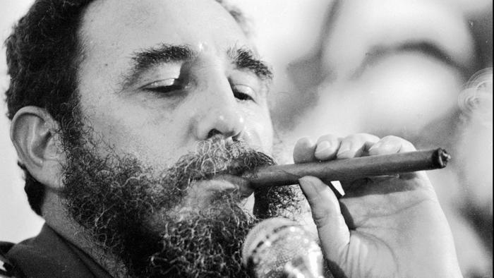 Fidel Castro died as he lived, writes @JonahNRO,  praised by useful idiots. https://t.co/I2KEh2fpMY https://t.co/YSjP1WhYYE