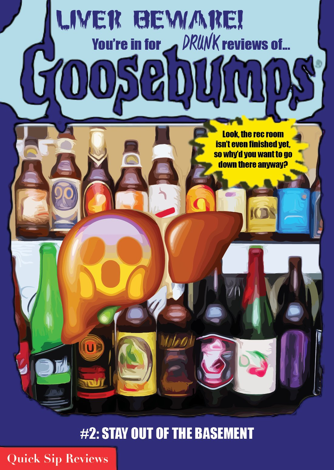 & speaking of Liver Beware? Guess what drops very soon? My Review of Goosebumps #2: STAY OUT OF THE BASEMENT!!! #PatreMonday https://t.co/AQY0Z7A1CG