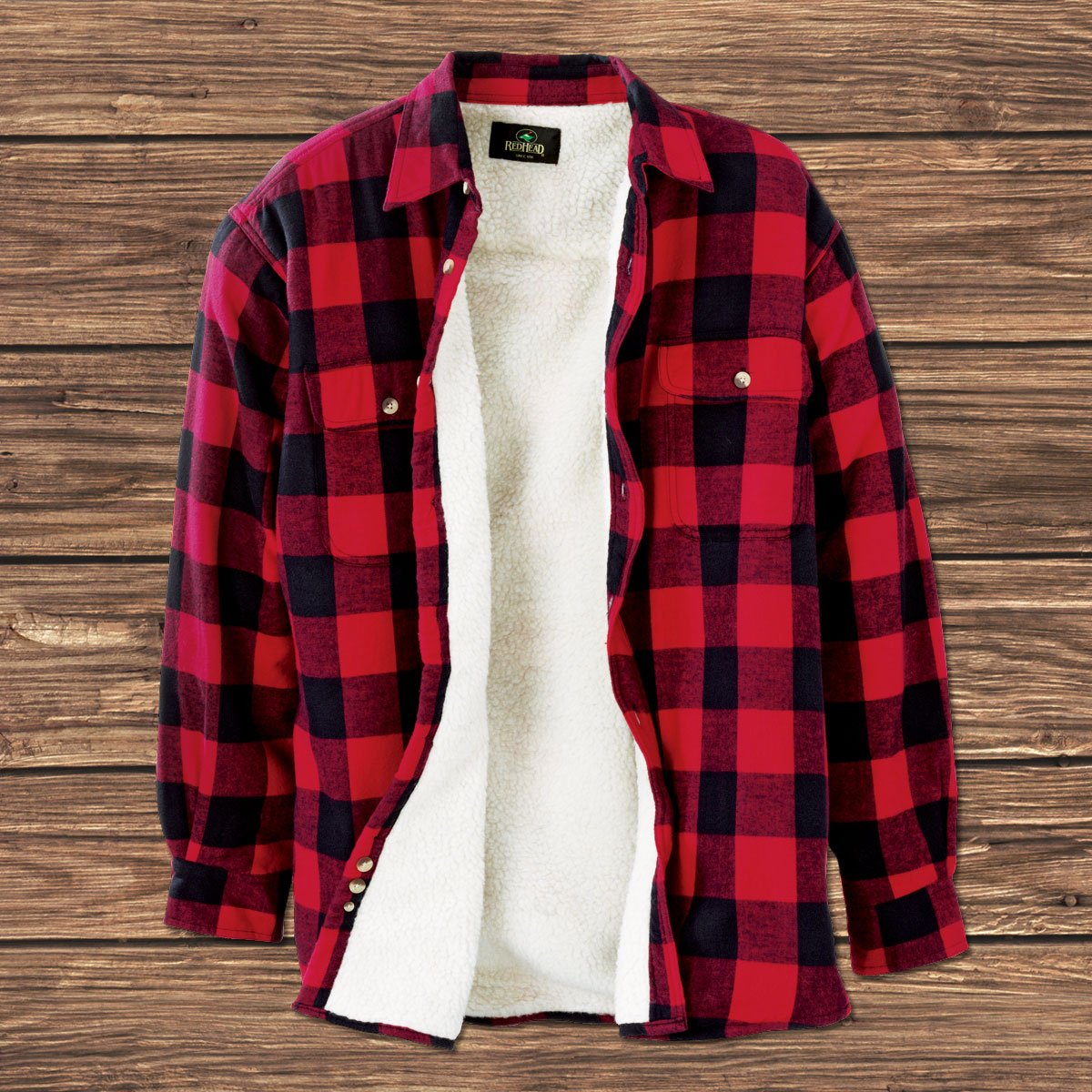 Redhead flannel lined