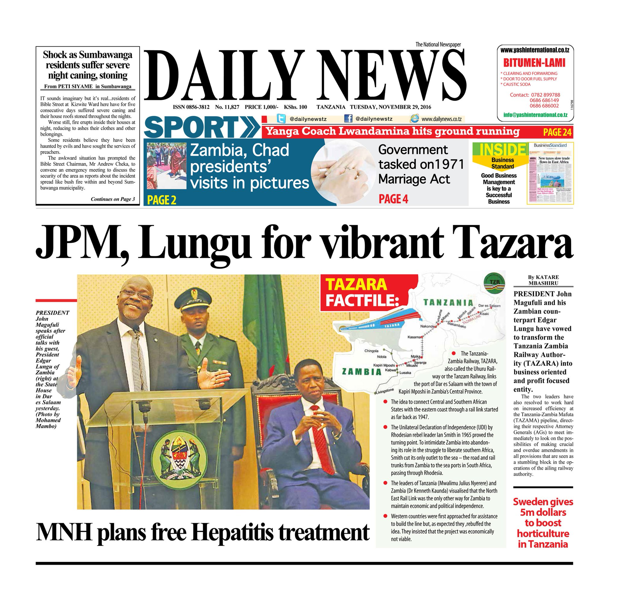 Daily News Online On Twitter Don T Forget To Get Your Copy Today