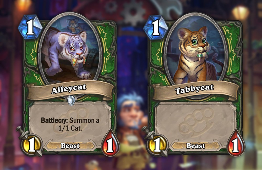 Alleycat , Hearthstone Cards