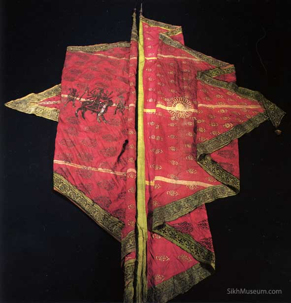 Image result for sikh empire flag
