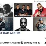 RT @RecordingAcad: Congrats Best Rap Album nominee...