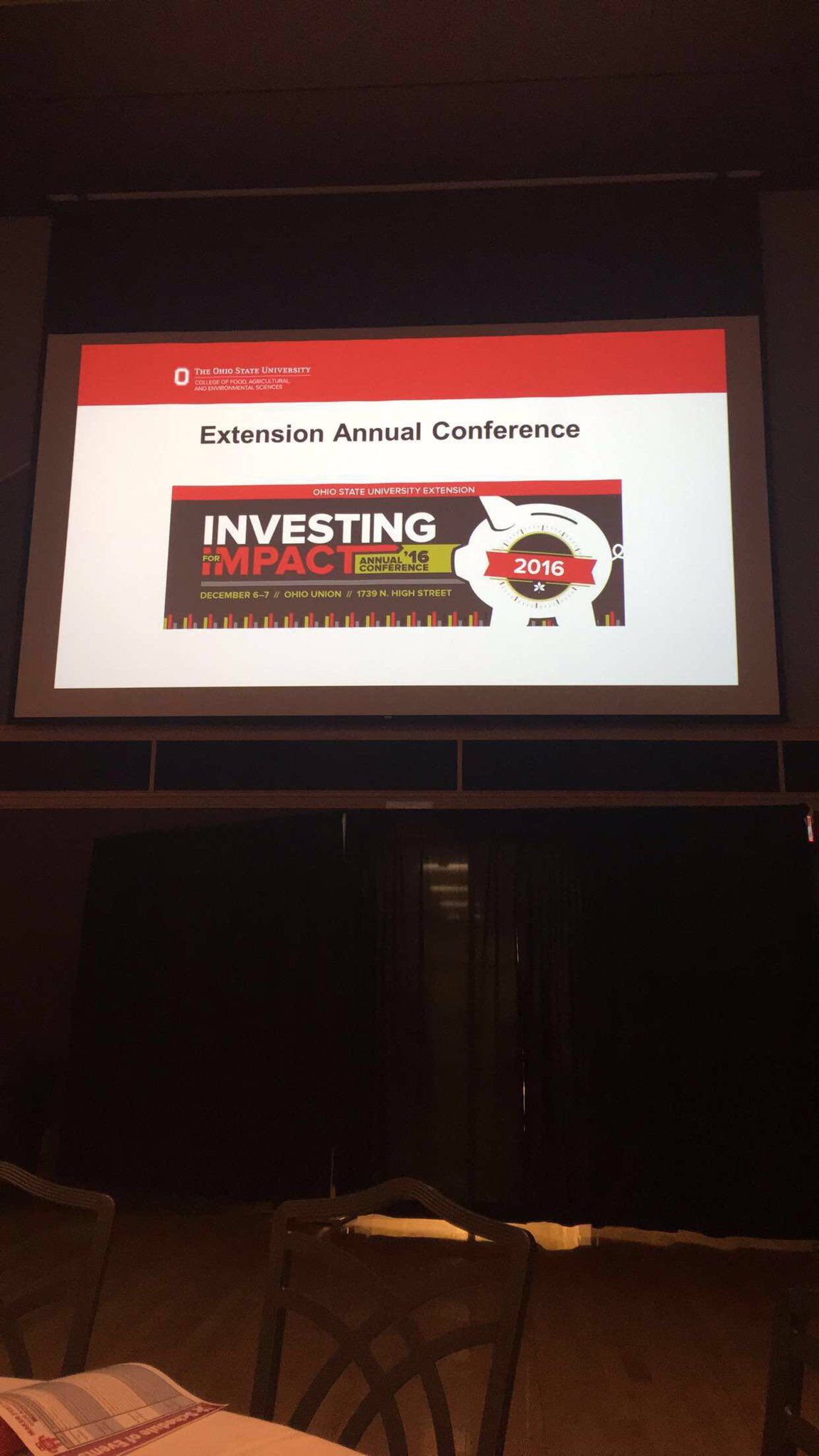 Ready to Invest for Impact! #osue2016 https://t.co/bhHeAyaV2b
