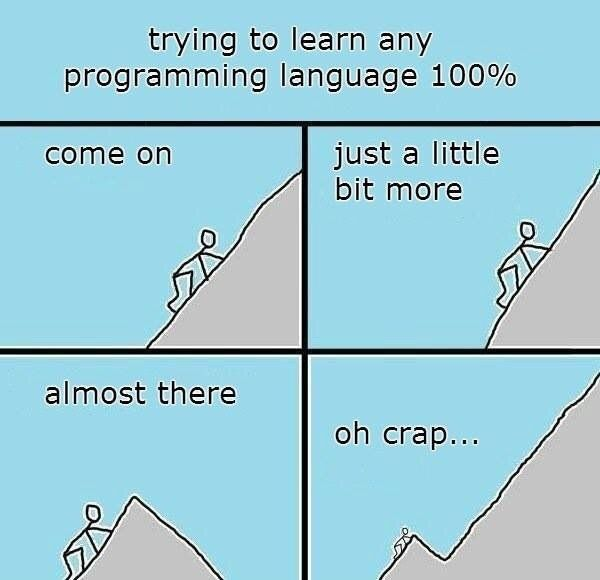 Learning any programming language https://t.co/k8VQjvGs9E