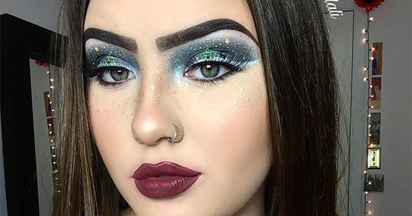 This Brilliant Artist Just Sleigh-ed The Holiday Makeup Game