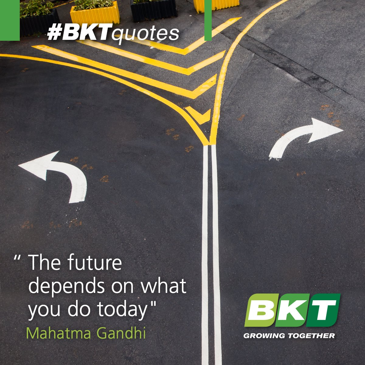 What have you done today to make your tomorrow? #BKTquotes #quote #quoteoftheday #future https://t.co/kkKQhOK4O4