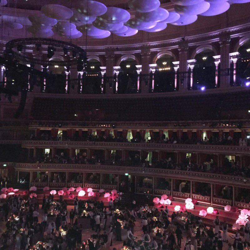 Royal Albert Hall in all its glory last night - thanks @BFC for such a fab night #bfa https://t.co/TvgWOruWds