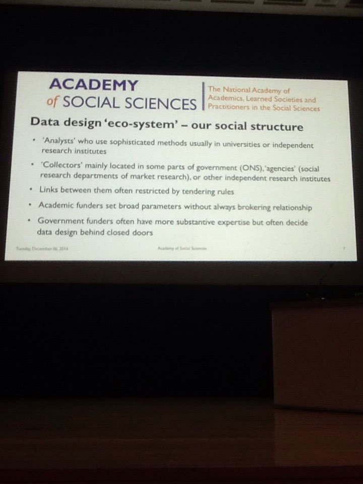 Witherspoon describes a data design 'Eco-system' #sraevents https://t.co/LDPo5o6rkl