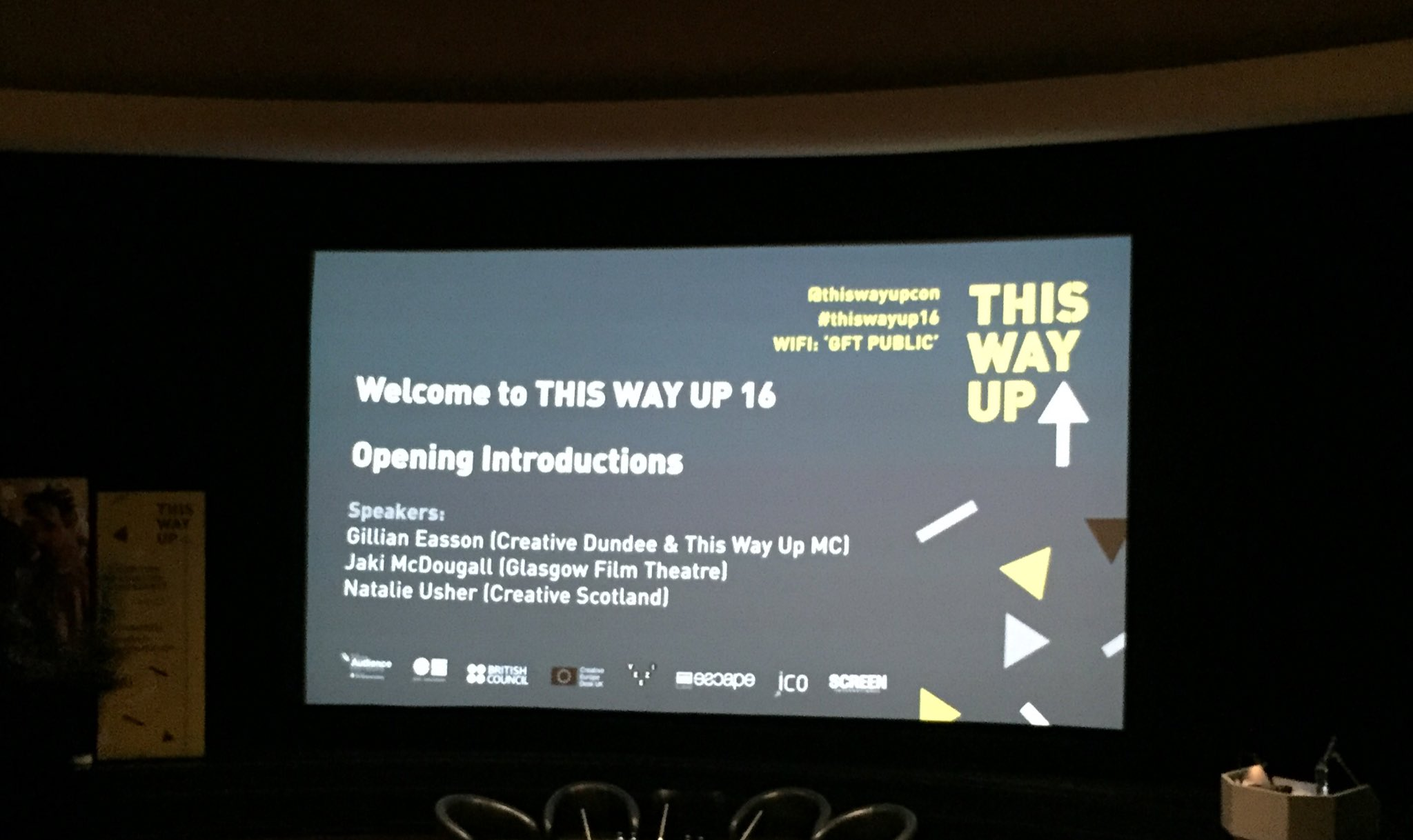 Looking forward to getting stuck into the keynotes @thiswayupcon #ThisWayUp16 https://t.co/9ueOrAd9FX