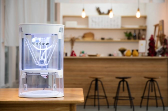 Yeehaw launches 3D printer for kids on Indiegogo