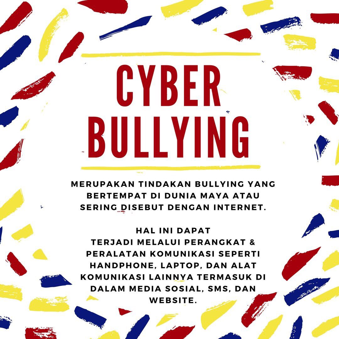 Cyber Cops Campaign On Twitter Apa Itu Cyber Bullying