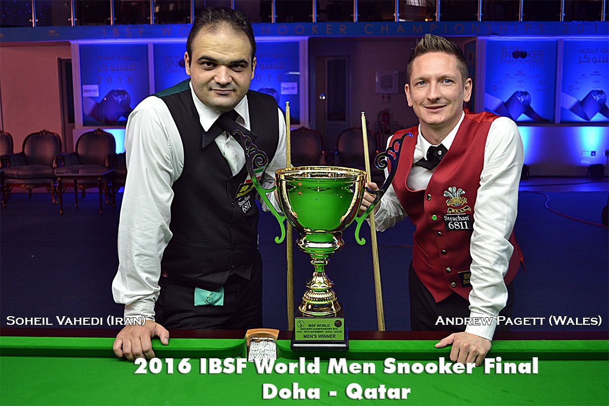 Amateur snooker tournaments agree, this