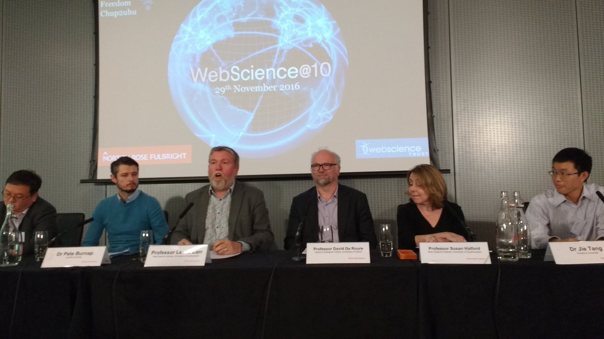 Panel 2 - web science at cutting edge - research from labs at #websci10 starts now! https://t.co/TOg4hPZ21l