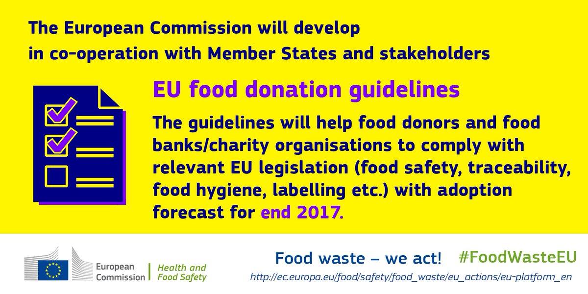 Eu Food Safety On Twitter Foodwasteeu The Food Donation