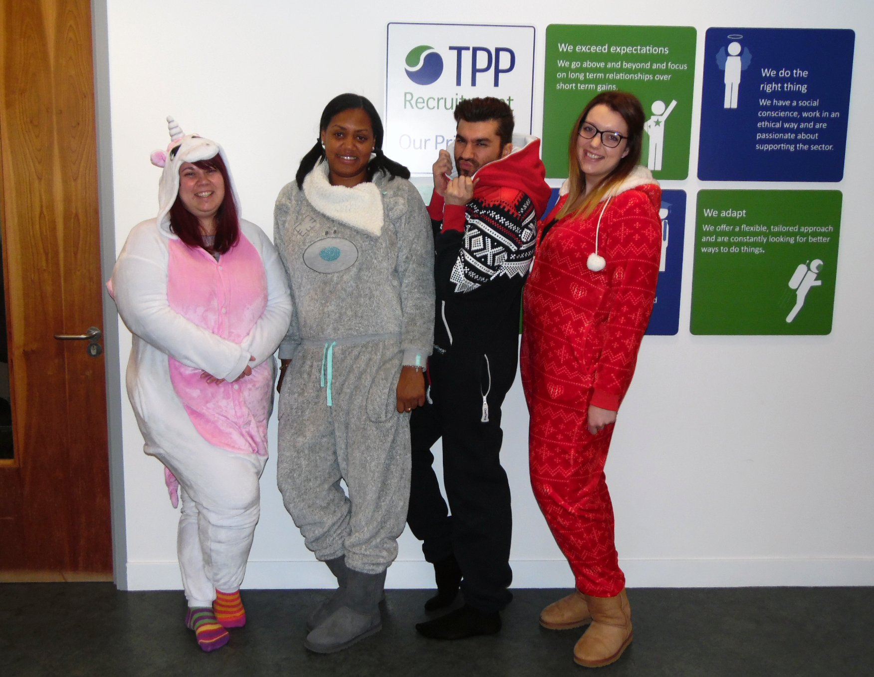 .@TPPRecruitment support staff taking #GivingTuesday dress-down to the max! https://t.co/5DhzARYouz