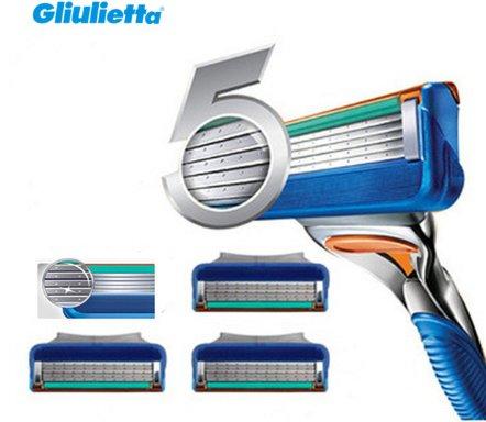 сменные кассеты для бритья gillette fusion power 4 шт купить