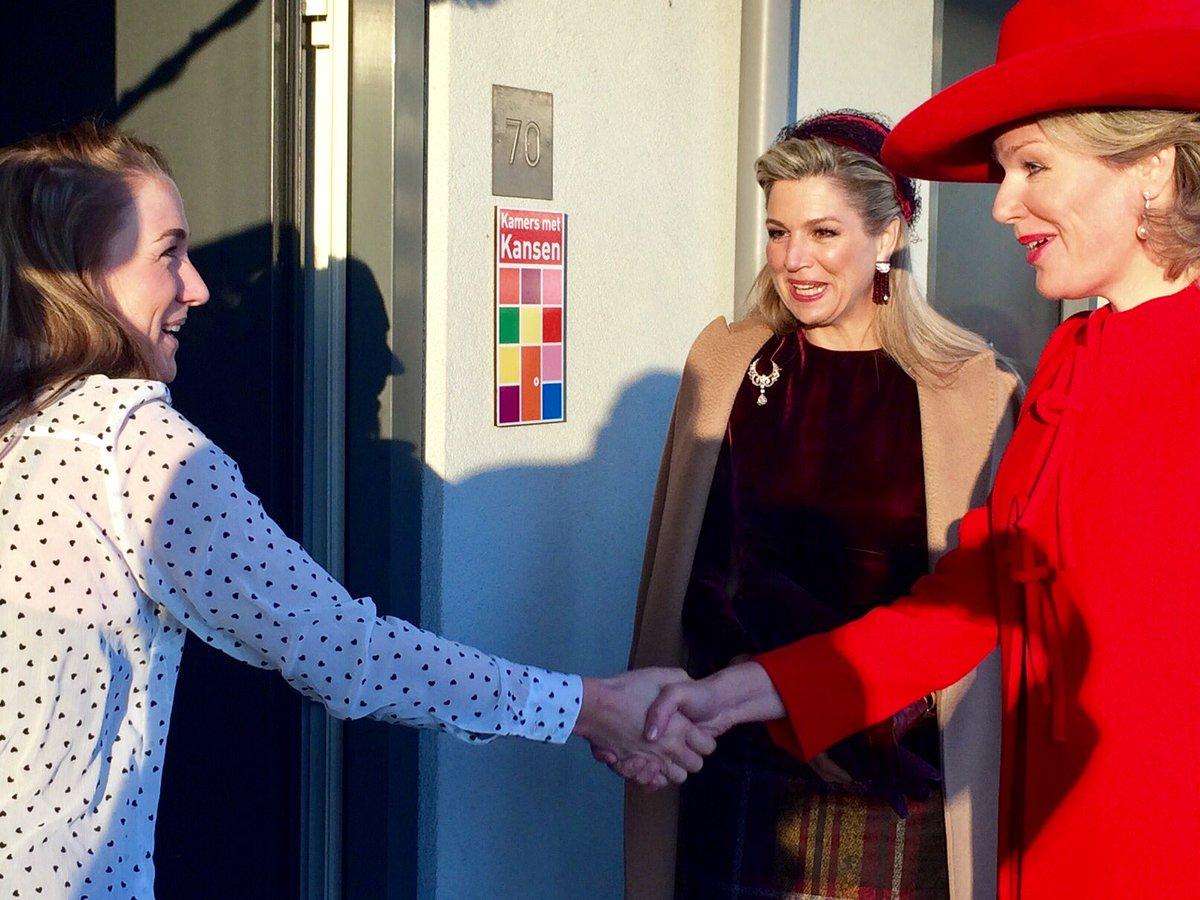 Официальный визит королевской четы Бельгии в Нидерланды, день 2