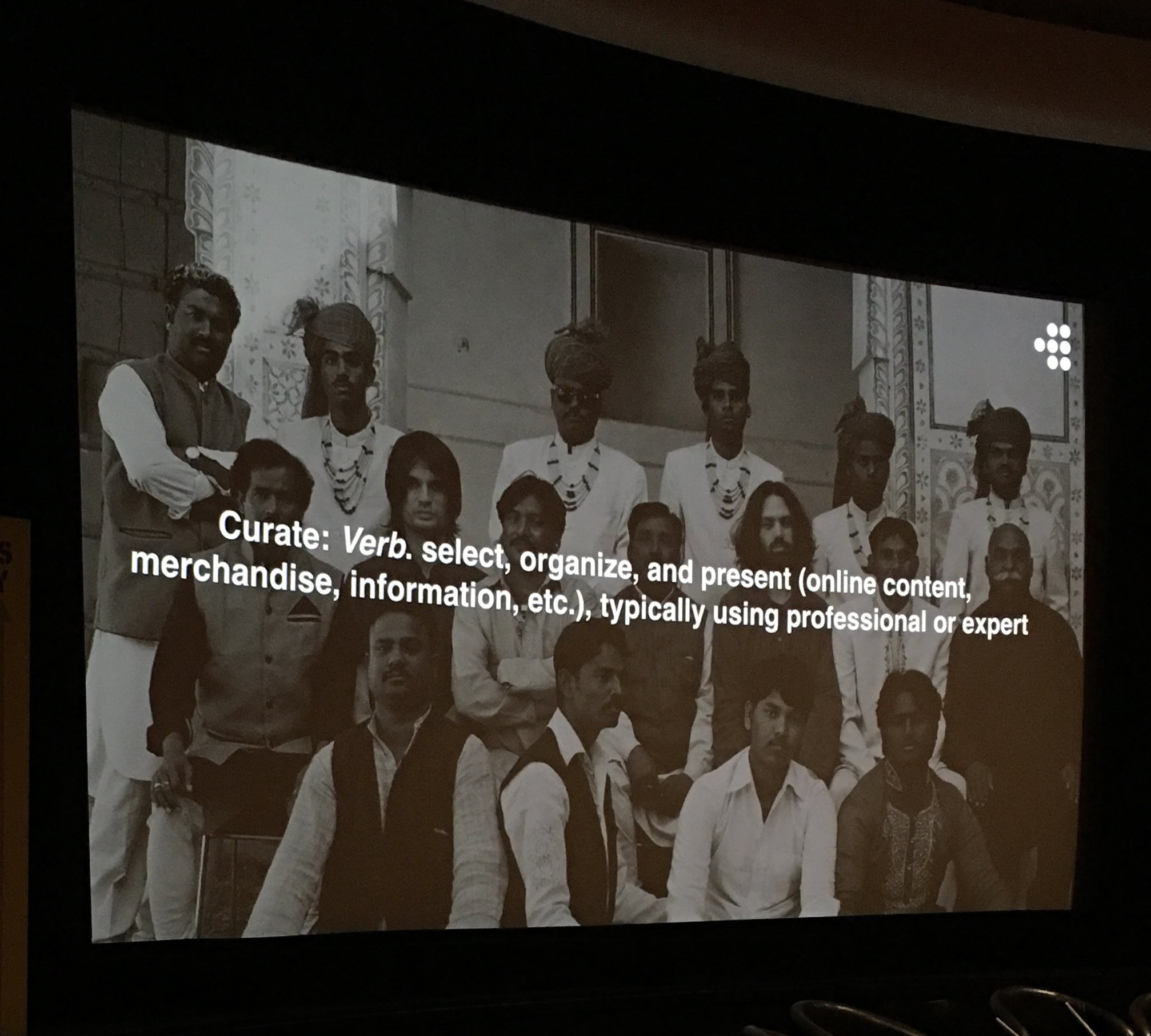 'People like to feel there is someone behind the programme' @mubi Maybe we should do more of this @cfylm ? #ThisWayUp16 https://t.co/t8gR5yoShd