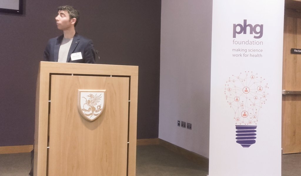 Prof Nitzan Rosenfeld @CRUKCambridge tells @PHGFoundation #LSS2016 event that special feature of #genomics for medicine is scalability... https://t.co/MqaGCztxi9