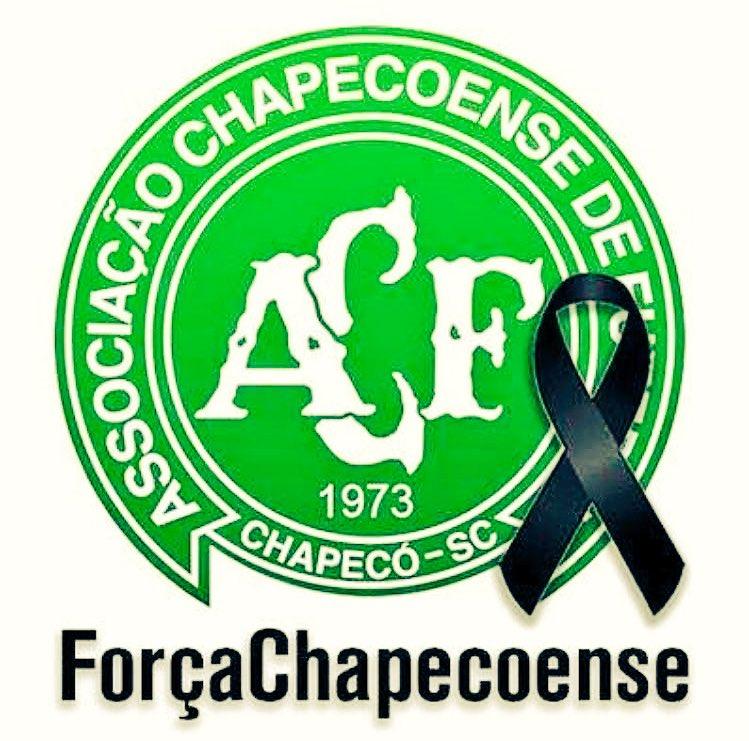 #Chapecoense #ForçaChape D.E.P.