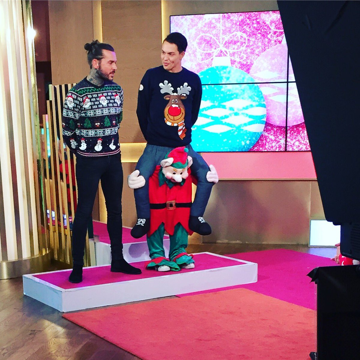 this morning christmas jumpers