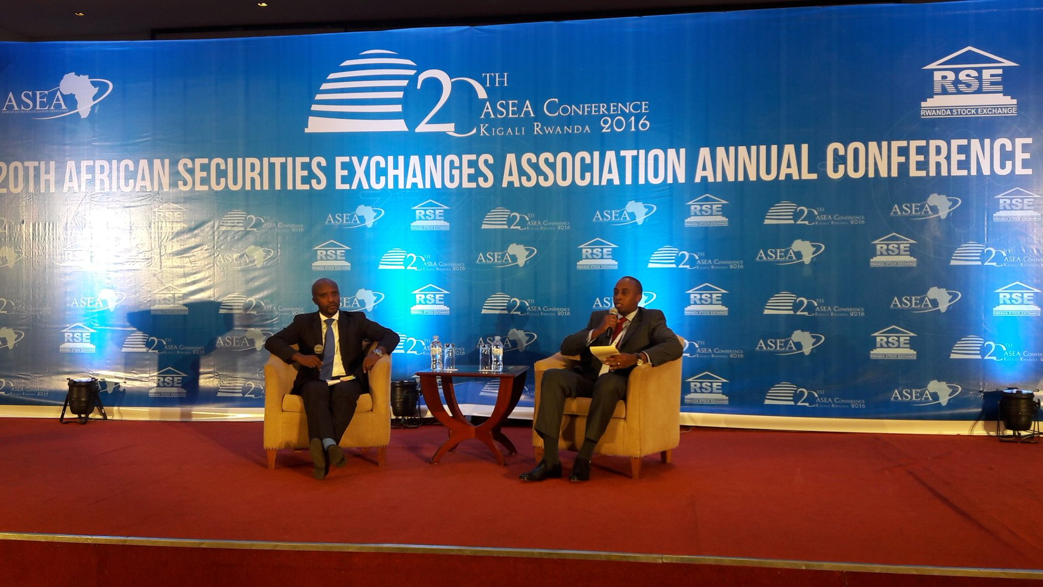 20th African Securities Exchanges Association photo from Twitter