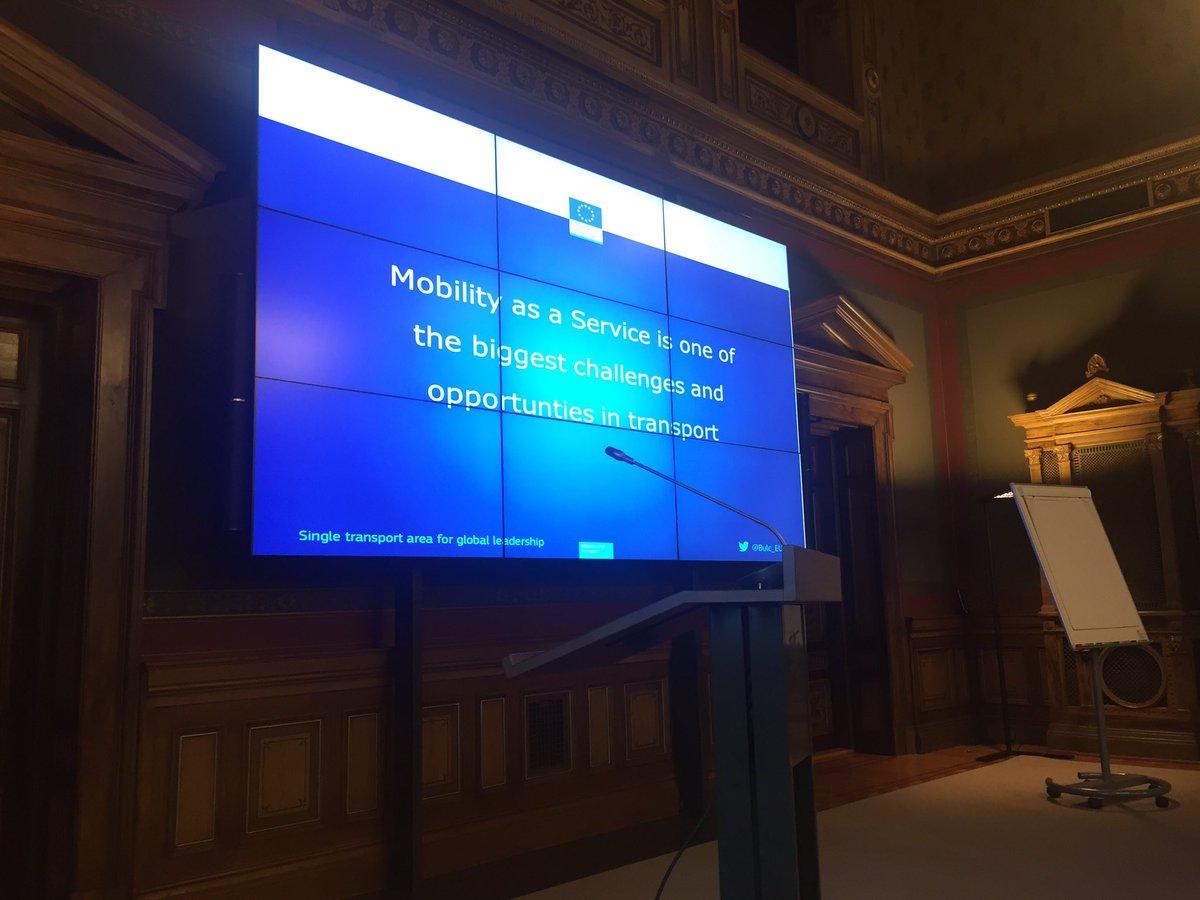 #maas is one of the biggest opportunities in transportation according to Violeta Bulc, EU transport commissioner #MaaSSummit @lvmfi