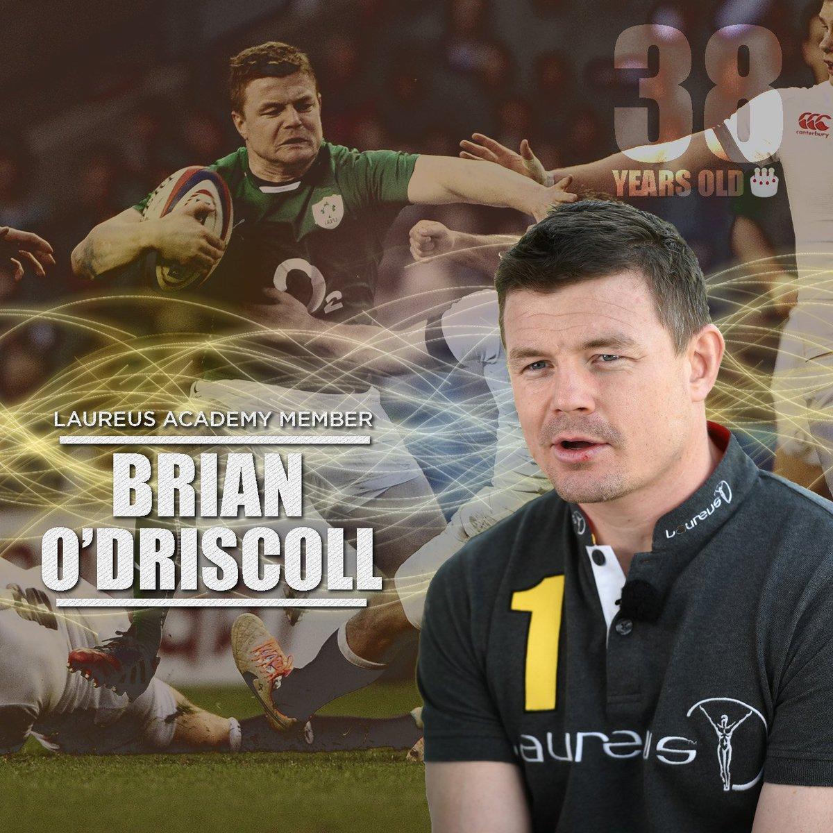 Ireland's best-ever rugby player?   Happy birthday BOD! 🎉🎉 @BrianODris...