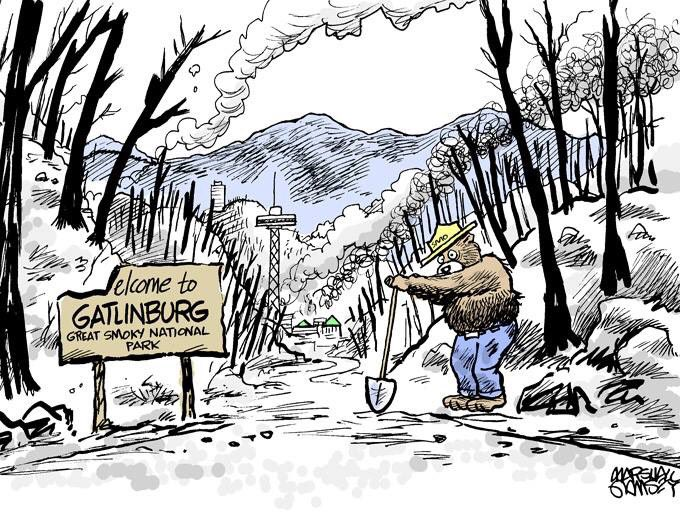 Bless the folks in the #Smokies. #Gatlinburg #pigeonforge #SevierCountyFires #fires https://t.co/MfMCcGsYll