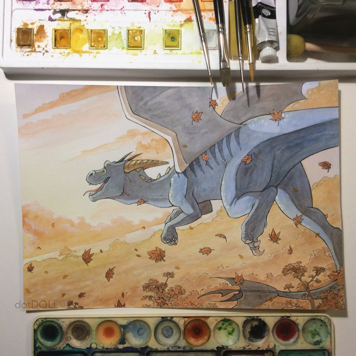 elizabeth rose best on twitter dragon x raptor oc for commission number 4 dinosaur dragon watercolour twitter
