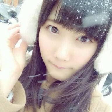 雪の日の伊藤純奈