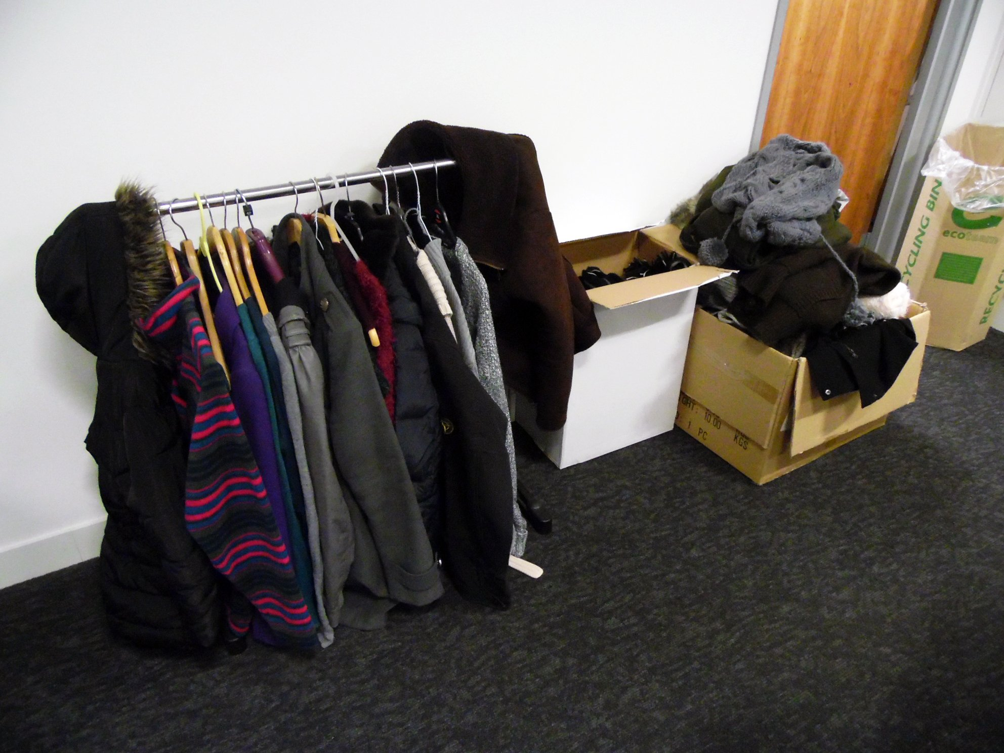 All the warm clothes @TPPRecruitment have collected in November. #GivingTuesday https://t.co/lSOdwpmt1M