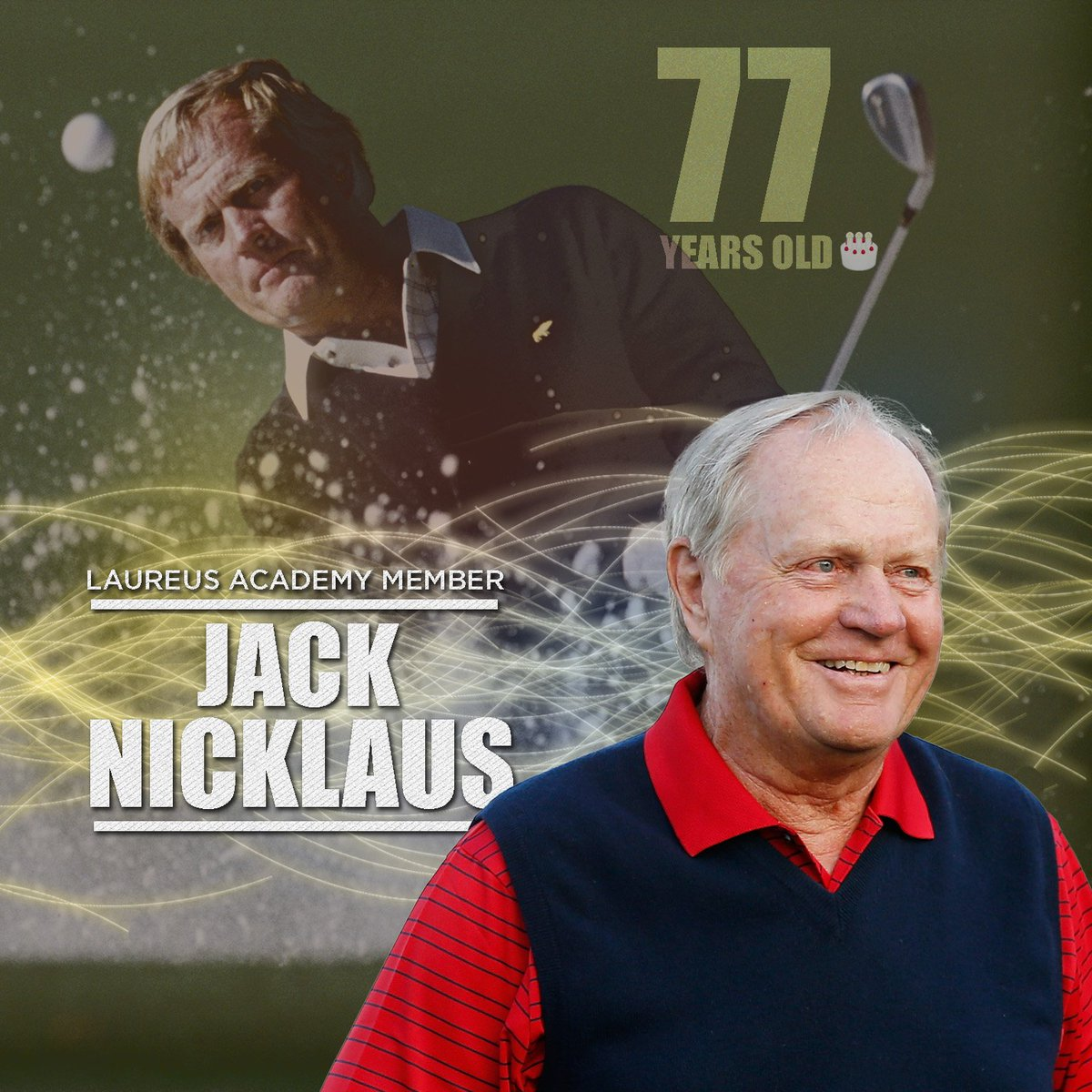 One of golf's best. ⛳️  Have a great birthday @jacknicklaus! 🎉🎉 https:...
