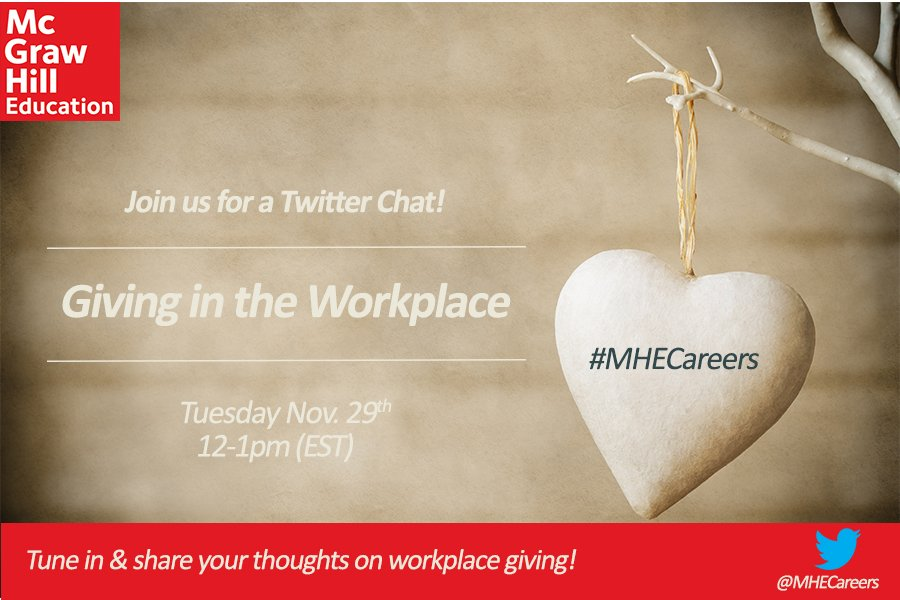 Thumbnail for #MHECareers: Giving in the Workplace