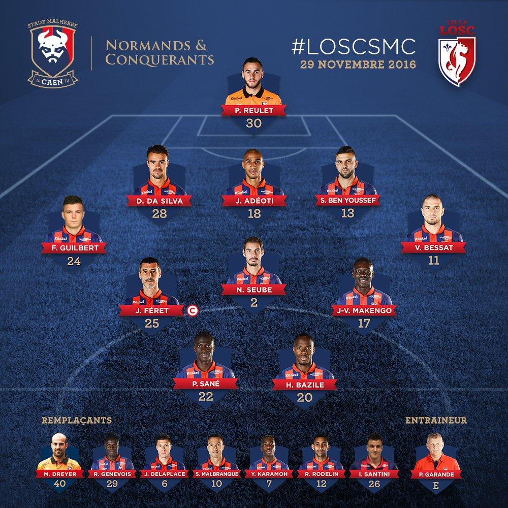 [15e journée de L1] Lille OSC 4-2 SM Caen  Cycg9hiXEAAq6ae