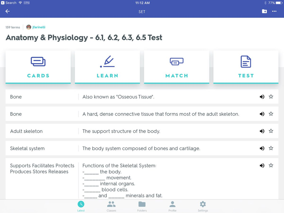 Anatomy And Physiology 1 Final Exam Quizlets