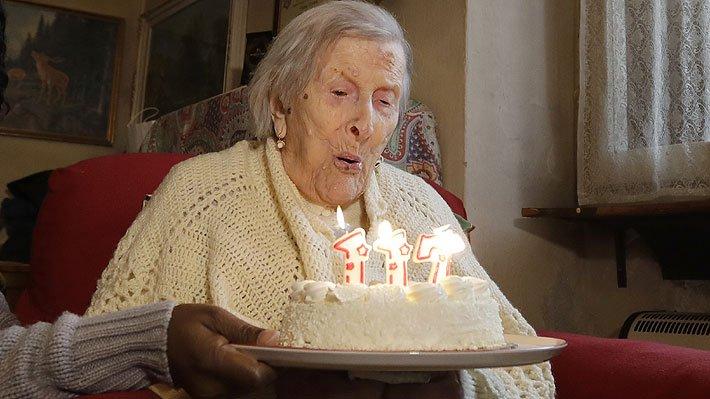 Compie 117 anni Emma Morano, la donna più anziana del mondo