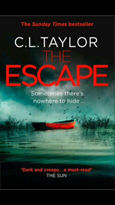 Here we go...the cover for my next novel THE ESCAPE! https://t.co/ZgbBH1zXf0 https://t.co/fBFbXvLM7B
